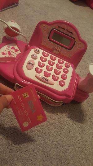 Toy Cash register does math problems for Sale in Manassas Park, VA