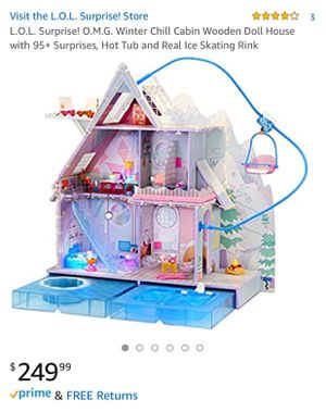LOL Surprise Winter Disco Chalet Doll House/ Play set for Sale in Clermont, FL