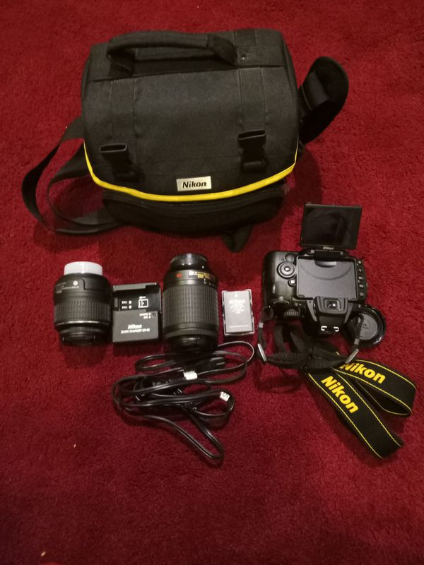 Nikon D5000 12.3 MP Digital SLR Camera - Black