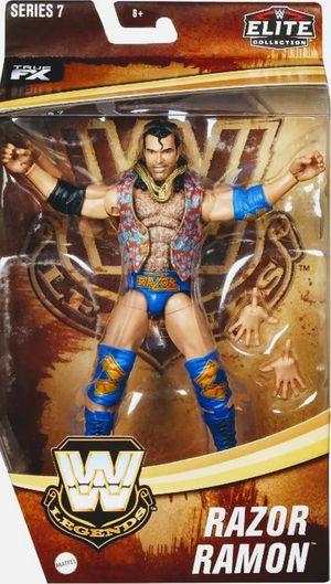 New WWE Elite Legends Razor Ramon Action Figure. for Sale in Apopka, FL