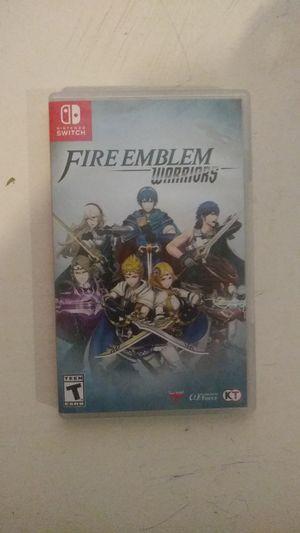 Fire Emblem warriors for Sale in Riverside, CA