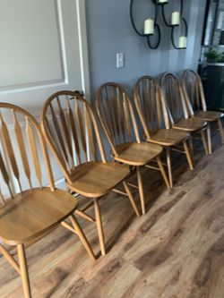Solid Wood Dinning Chairs !!! for Sale in Vancouver,  WA