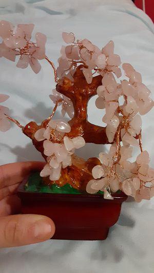 Rose Quartz Money tree room decor for Sale in Pawtucket, RI