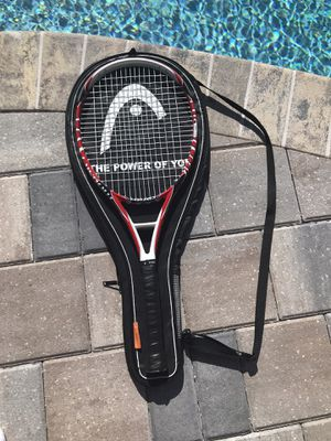 "Head Microgel Monster Tennis Racquet - Grip Size 4-3/8"" 110 face with bag for Sale in Merritt Island, FL"