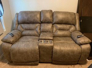 Suede Electric Couch for Sale in Colorado Springs, CO