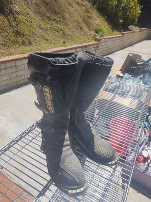 Thor Dirt bike boots for Sale in Carlsbad, CA