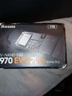 Samsung 970 Evo Plus for Sale in Portland,  OR