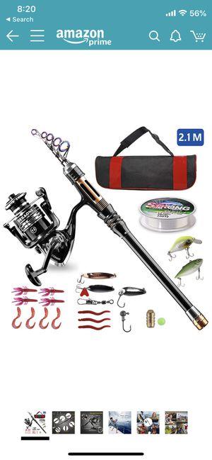BlueFire Fishing Rod Kit for Sale in San Antonio, TX
