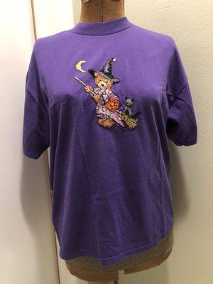Cross Stitch Witch Bear Halloween Tee for Sale in Seminole, FL