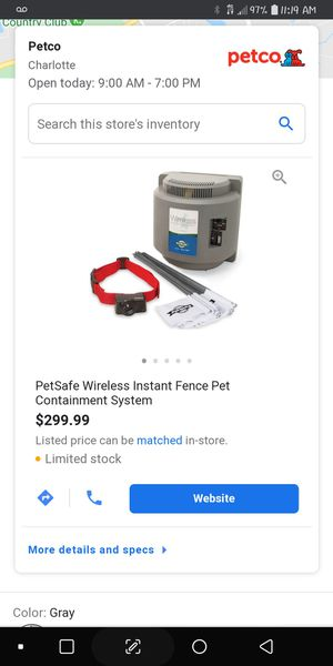 Petsafe wireless pet containment system for Sale in Lancaster, SC