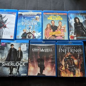 Blu-ray DVDs Movies #2 for Sale in Los Angeles, CA