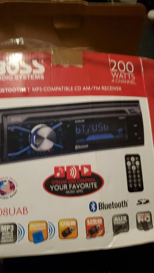 Boss Audio System stereo for Sale in Youngstown, OH