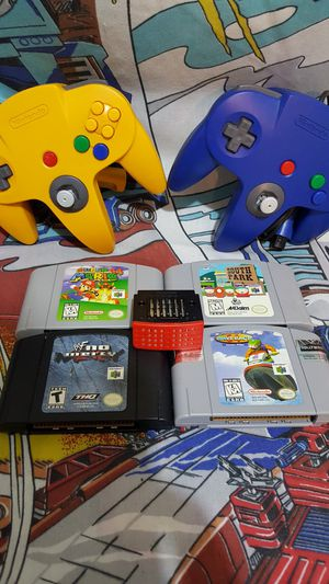 N64 BUNDLE for Sale in Woodway, WA