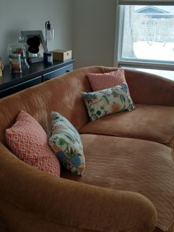 Gorgeous Deep Couch & Love Seat for Sale in Barrington,  IL