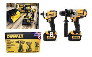 New dewalt hammer drill combo for Sale in Cedar Grove, NJ