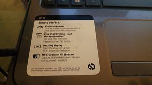 Hp palvion 15 for Sale in Wichita, KS