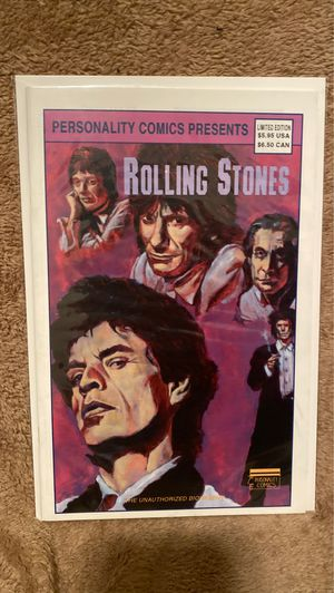 Rolling Stones Personality Comics for Sale in New York, NY