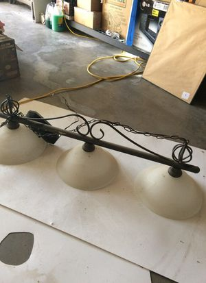 Pool table or island lamp for Sale in Escalon, CA