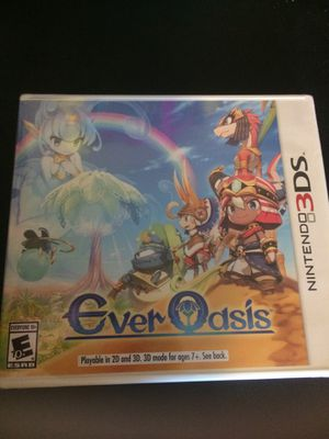 Brand New Ever Oasis 3DS for Sale in Norco, CA