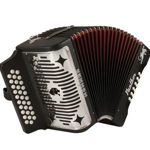 Hohner HA-3100 Panther GCF Diatonic Accordion Matte Black for Sale in San Diego, CA