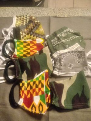 Custom-made face masks and shields $5 and up for Sale in Phoenix, AZ