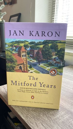 Jan karon collection book. The Mitford years for Sale in Pittsburgh, PA