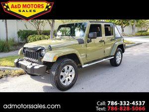 2013 Jeep Wrangler Unlimited for Sale in Miami, FL