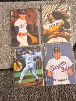Mlb Baseball ⚾️ Nolan Ryan Mothers Cookies Cards for Sale in Bloomington,  CA