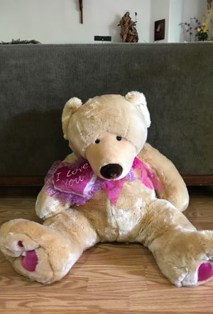 """I Love U"" Teddy Bear for Sale in Brooks, OR"