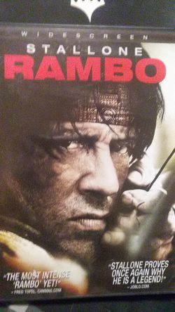 RAMBO DVD for Sale in Yakima,  WA