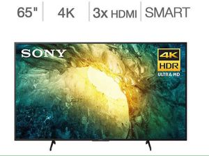 """Sony 55"""" Television Class 4K HDR Led TV Wi Fi Enabled TV Smart Televisor Inteligente KD55X75CH for Sale in Miami, FL"""