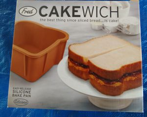 Cakewich silicone bake pan for Sale in Long Beach, CA