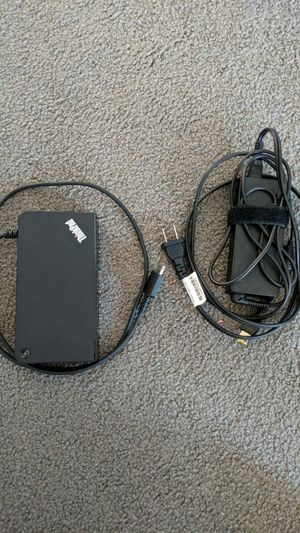 Lenovo OneLink Plus Docking station Dual Monitor for Sale in Gardena, CA