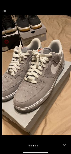 Air force 1 grey suede size 10.5 for Sale in Wood Dale, IL