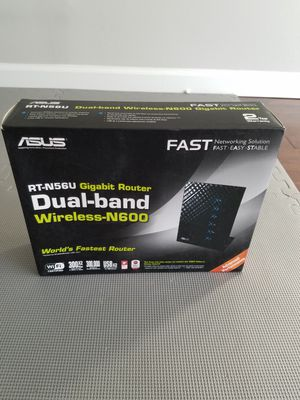 Asus wireless router for Sale in Cherry Hill, NJ