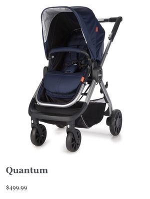 Diono Quantum Stroller Navy Blue convertible for Sale in Zephyrhills, FL
