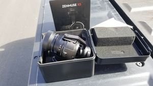 DJIZenmuse X5 Camera and 3-Axis Gimbal with 15mm f/1.7 Lens for Sale in Irvine, CA