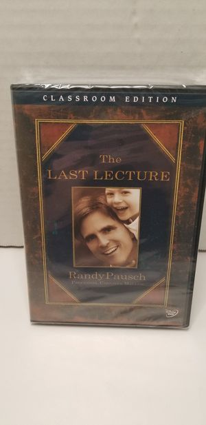 The last lecture dvd for Sale in Piney Flats, TN