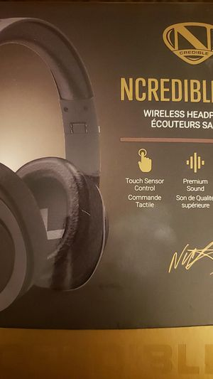 NCREDIBLE ( NICK CANNON) WIRELESS BLUETOOTH HEADPHONES!! for Sale in Phoenix, AZ