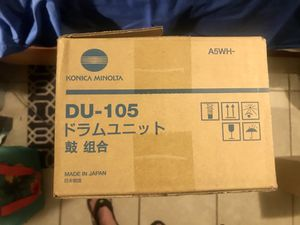 Drum Unit (DU-105 (Konica Minolta) A5WH- for Sale in Wichita, KS