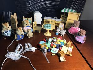 Calico critters, lil woodzies for Sale in Vancouver, WA