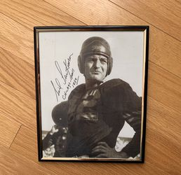 Did Luckman Chicago Bears Pro Football HOF Signed Autographed 8x10 Reprint for Sale in Lombard,  IL