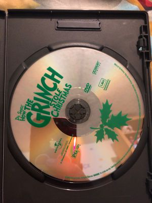 Dr. Seuss how the grinch stole Christmas live action 2000 dvd only for Sale in Orlando, FL