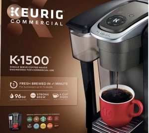 Keurig K1500 Commercial Coffee Maker limited time offer for Sale in Miami, FL