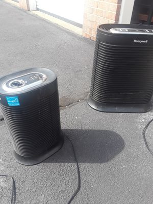Pair of air purifiers one digital large area one smaller for bedroom for Sale in Springfield, VA