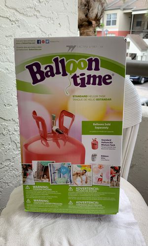 Helium tank for Sale in Fort Myers, FL