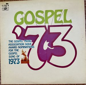 "Various Artists ""Gospel '73 Dove Award Nominations"" Vinyl Album $7 for Sale in Ringgold, GA"