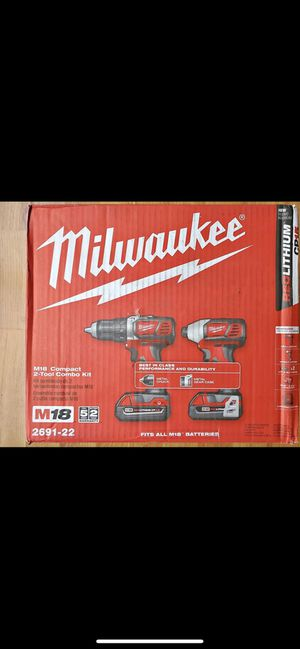 Milwaukee combos for Sale in Gaithersburg, MD