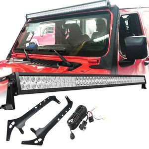 """50"""" LED Light Bar, Mounting Bracket and Harness for 2018-2021 Jeep Wrangler JL for Sale in Anaheim, CA"""
