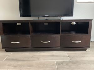 Wood TV Stand, Console for Sale in Phoenix, AZ